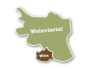 Karte Weinviertel